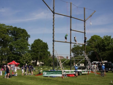 Mobile High Ropes Course