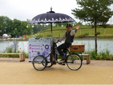 The Magical Musical bike